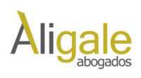 Logotipo Aligale abogados